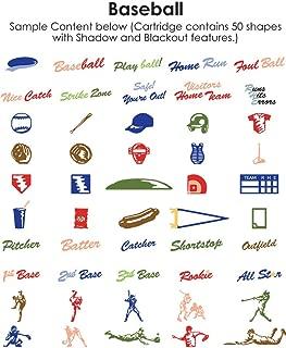 Best cricut baseball cartridge Reviews