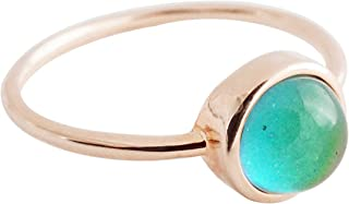Mood Ring in Gold, Rose Gold, or Silver   Minimalist, Delicate Jewelry