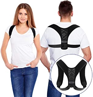 Bestmaple 2019 Back Shoulder Posture Correction Adjustable Adult Sports Safety Back Support Corset Spine Support Belt Posture Corrector