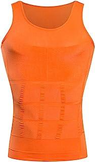 comprar comparacion BaronHong Gynecomastia compresión Camisa Chaleco para Ocultar Hombre Boobs Moobs Adelgazamiento Mens Shapewear Aplastar Ab...
