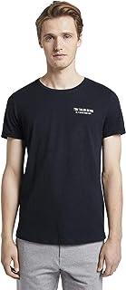 Tom Tailor Men's Non-Solid Print T-Shirt