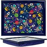 Lesser & Pavey LP-45332 Spaceman Children Lap Tray, Wood, Plastic, Cotton