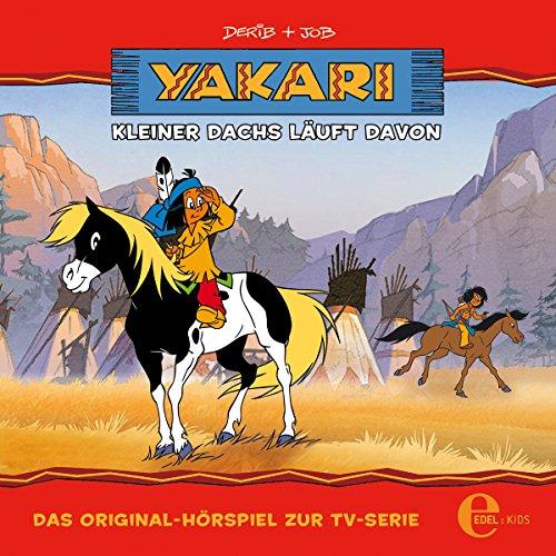 Kleiner Dachs läuft davon (Yakari 4) Titelbild
