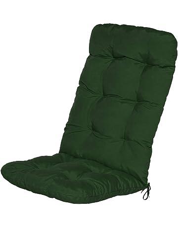 Shaggy Cuscino per Lettino Accogliente Cuscino per Schienale Alto Cuscino reclinabile Cuscino per Sedia in Rattan Poltrona da Patio-Viola Chiaro 13 qazwsx Cuscini per sedie da Giardino Extra-Large