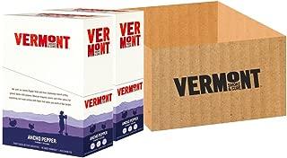 Vermont Smoke & Cure Meat Sticks, Turkey, Antibiotic Free, Gluten Free, Ancho Pepper, 1oz Stick, 48 Count