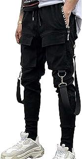 Heren Joggers Punk Cargo Baggy Techwear Hip Hop Harem Streetwear Tactische Track Broek