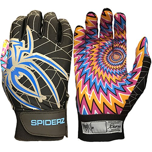 Spiderz Adult RAW Football Glove