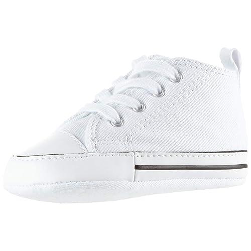 32ba10e6e86490 Converse CT Kids  First Star Leather High Top Sneaker