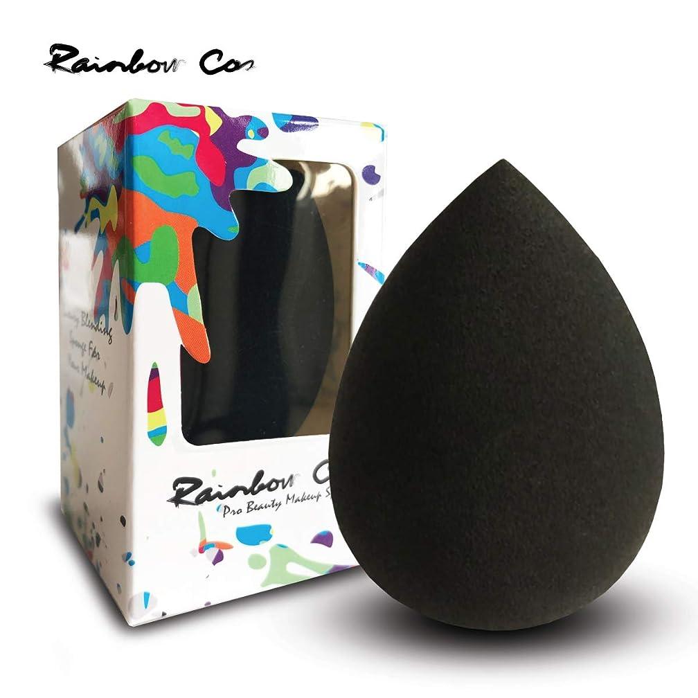 感染する毛布出来事Rainbow Cos Premium Pro Makeup Sponge Beauty Foundation Sponge Blender for Applicator, Foundation and Highlight しずく型 メイクスポンジ ファンデーションスポンジ 非ラテックス 乾湿兼用メイクスポンジ