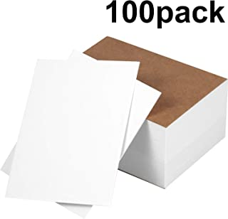 Chinco 100 Pieces Blank Playing Cards Games Cards Index Card Note Cards for DIY Game School Office, 3 x 4 Inches
