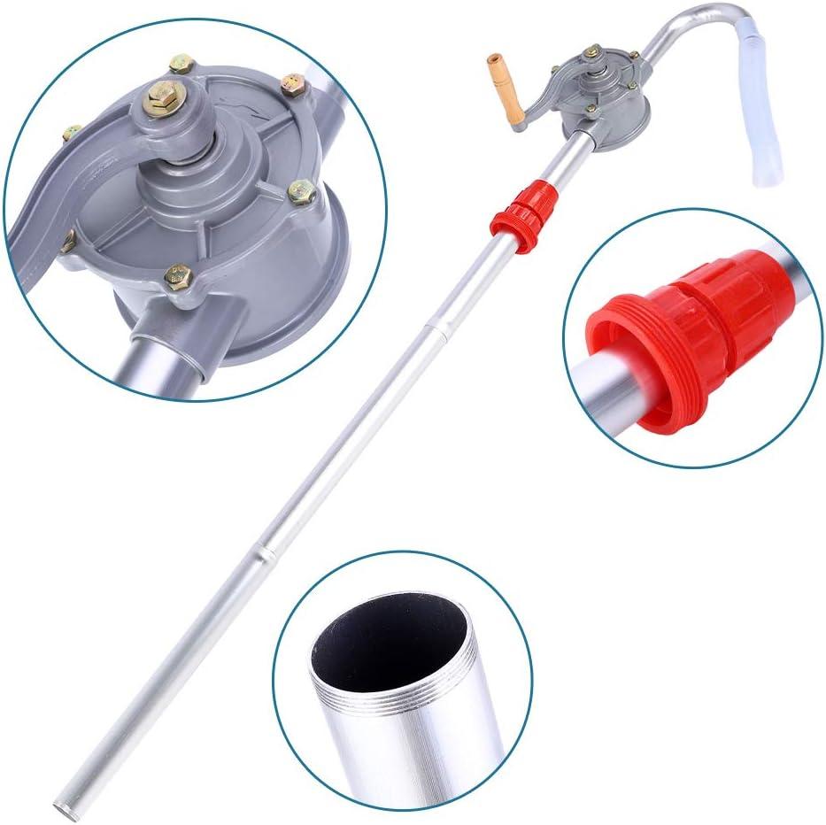 Rotary Barrel Pump Popular overseas 70RPM Aluminum Alloy Hand 100% quality warranty! Oil D Crank