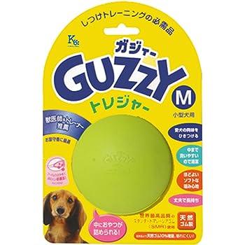 GUZZY(ガジィ―) 犬用おもちゃ GUZZY ガジィ―トレジャーM グリーン M サイズ (ケース販売)