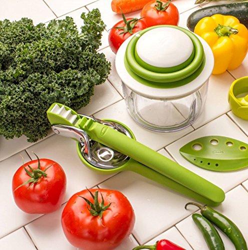 Chef'n VeggiChop Hand-Powered Food Chopper (Arugula)