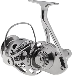 F Fityle Stainless Steel CNC Integrated Fishing Spinning Reel Boat Casting Reel