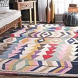 nuLOOM Ofelia Hand Tufted Wool Rug, 5' x 8', Multi