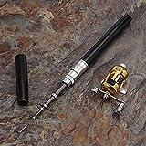 Stealth Angel Mini Portable Pocket Pen Fishing Pen Rod and Reel