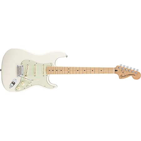 Fender Deluxe Roadhouse Stratocaster - Maple Fingerboard - Olympic White