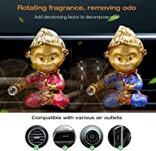 Car Aromatherapy Essential Oil Vent Clip, MOGOI Novelty Monkey King Air Freshener Diffuser Locket Clip, Ideal Artwork Gifts for Chinese Culture Lover