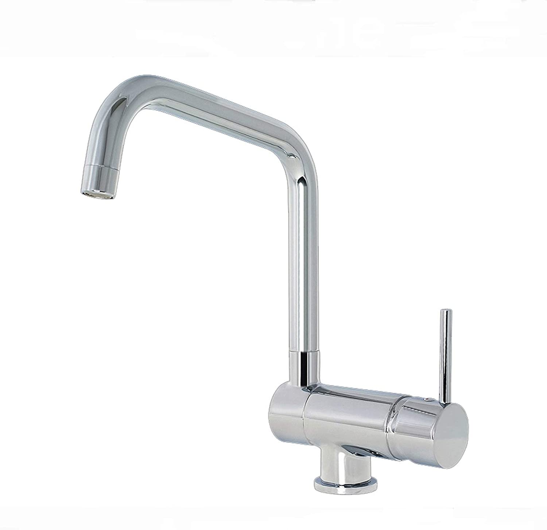 Jiaju Burgtal Fiore Single Lever Sink Faucet Sub-window Stainless Steel
