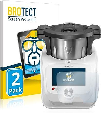 BROTECT Protection Ecran Compatible avec Silvercrest Monsieur Cuisine Connect [2 Pièces] - Utra Clair