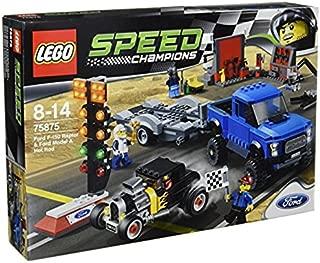 レゴ (LEGO) スピードチャンピオン フォード F-150 ラプター&フォードモデル A ホットロッド 75875