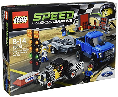 LEGO Speed Champions - Set con Ford F-150 Raptor y Ford A Modificado, Multicolor (75875)