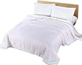 Silk Camel Luxury Allergy-Free Comforter Filled with 100% Natural Long Strand Mulberry Silk for Spring Season - Queen Size