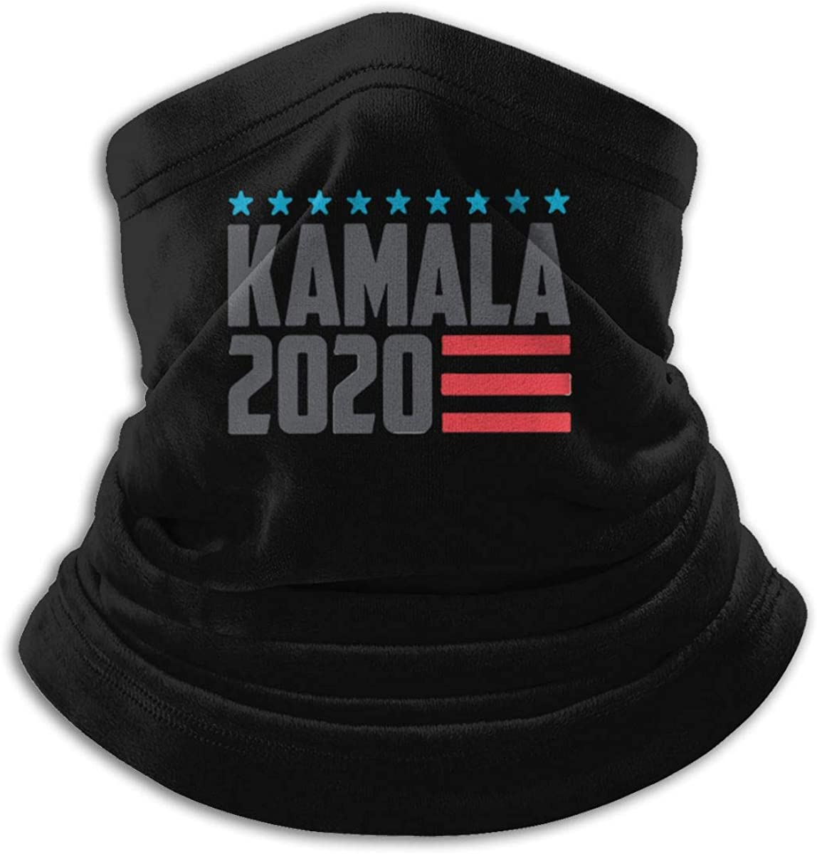 Kamala Harris 2020 Black Multi-function Neck Warmer Gaiter Polyester Neck Warmer Windproof Winter Neck Gaiter Cold Weather Scarf For Men Women