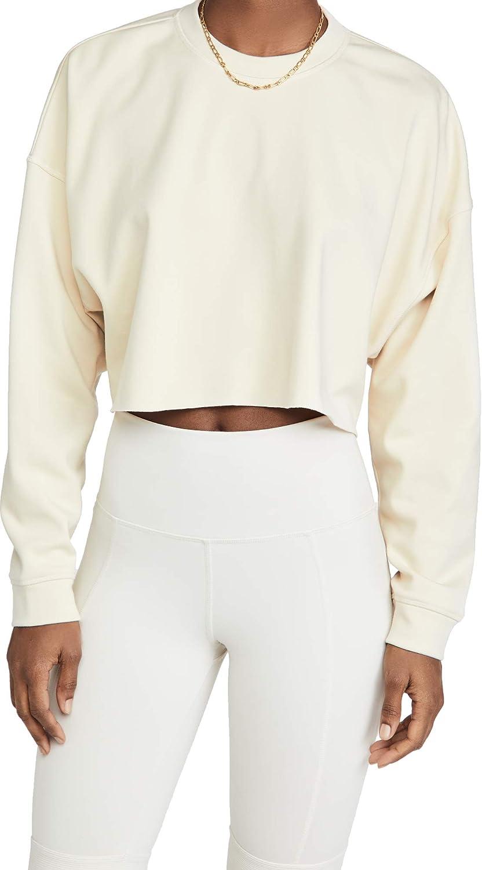 WeWoreWhat Active Women's Cropped Sweatshirt