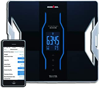 Tanita RD-901 plus IRONMAN® Android and iPhone Bluetooth Radio Wireless Body Composition Scale