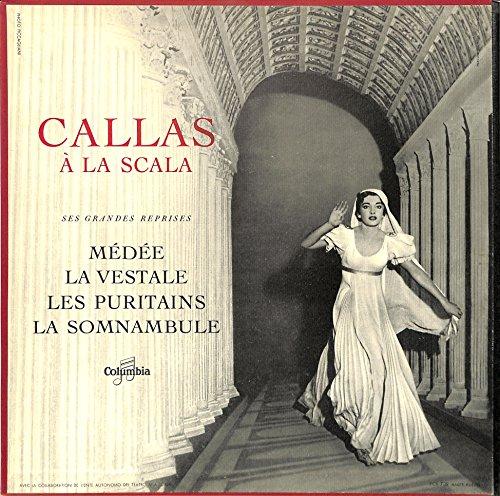Callas At La Scala(FRANCE COLUMBIA,FCX739)[Maria Callas][LP盤]
