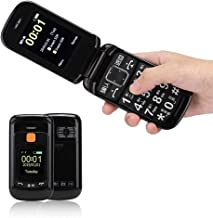 Sponsored Ad - Big Button Mobile Phones, Full Voice-Assistance Touch Screen Flip Mobile Phone for The Elderly Also Suitabl...