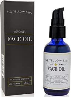Argan Face Oil Cleanser. Moisturizing Anti Aging Natural & Organic Facial Serum for Acne, Spots, Scars, and Wrinkles. Hydr...