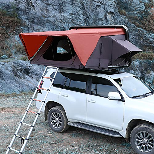 WLDQ Tenda da Campeggio per Camion con Tetto a Scomparsa Tenda Terrestre Universale per Auto Camion SUV Campeggio da Viaggio Tenda da Tetto Confortevole Mobile