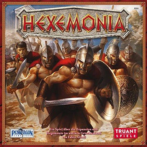 Hexemonia: Ein Spiel über Siedlungsentwicklung und Vorherrschaft im antiken Griechenland