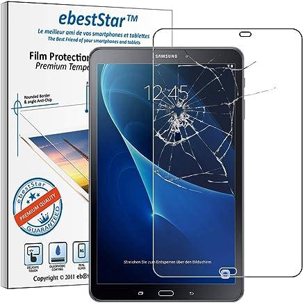 ebestStar - Compatible Verre trempé Samsung Galaxy Tab A6 A 10.1 (2018, 2016) T580 T585 Film Protection Ecran Protecteur Anti Casse, Anti-Rayure, sans Bulles [Appareil: 254.2 x 155.3 x 8.2mm, 10.1'']