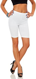 Cotton Leggings 1/2 Length Over-Knee Shorts Active Sport Casual Pants LK