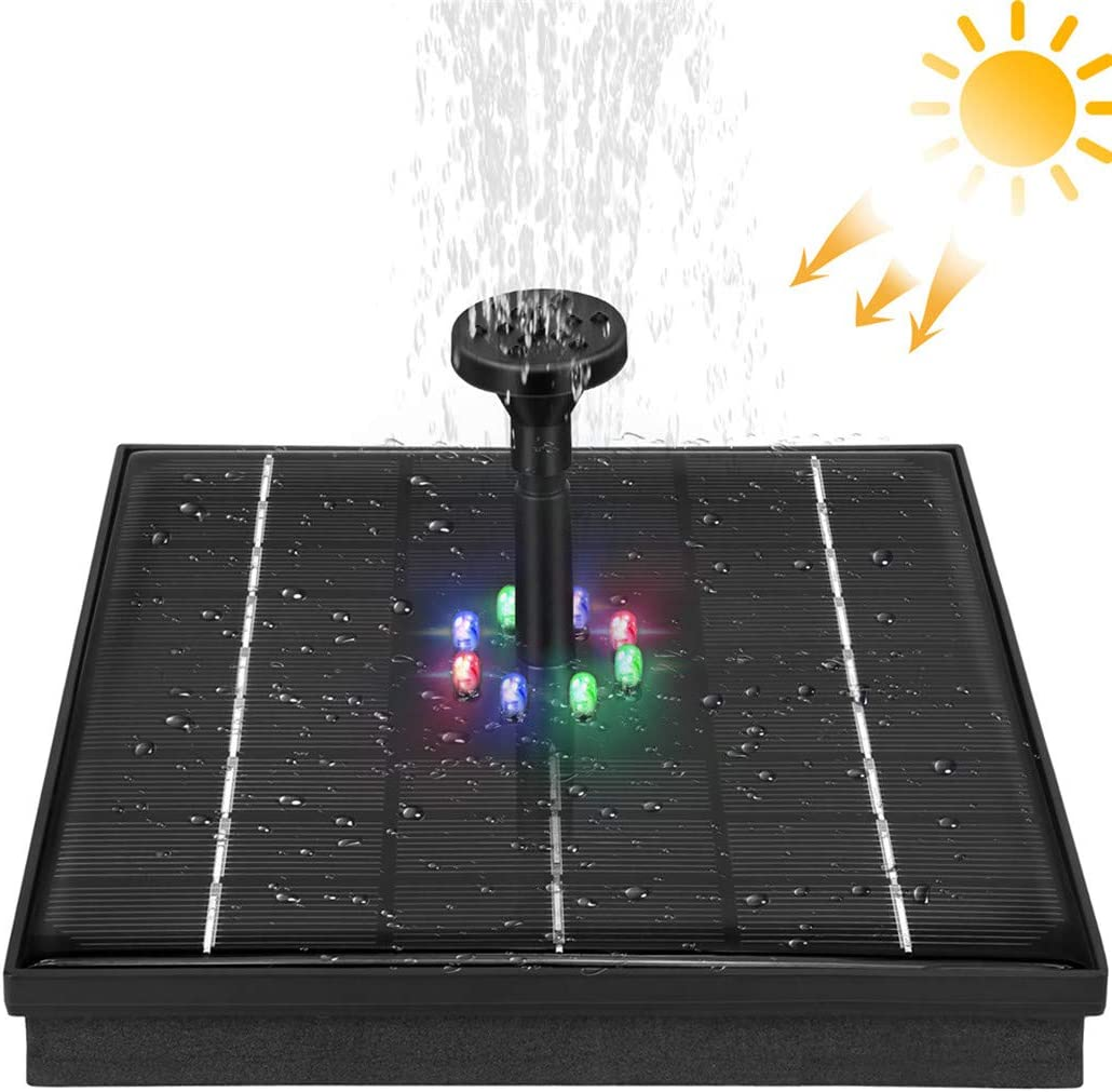 9V 5W Solar Bird Bath Pump Fountain Max 89% OFF Lights, Manufacturer OFFicial shop with LED