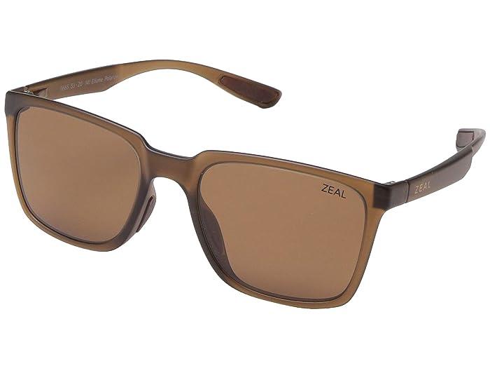Zeal Optics  Campo (Maple/Polarized Copper Lens) Fashion Sunglasses