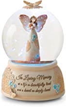 Pavilion Gift Company 19061 Light Your Way Memorial in Loving Memory Musical Water Globe, 100mm