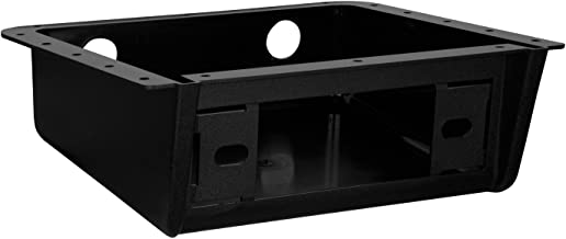 Enrock EBUDK00 Universal Car Stereo Fully Enclosed Under Dash/Overhead Installation Mounting Kit for DIN Radio Receiver