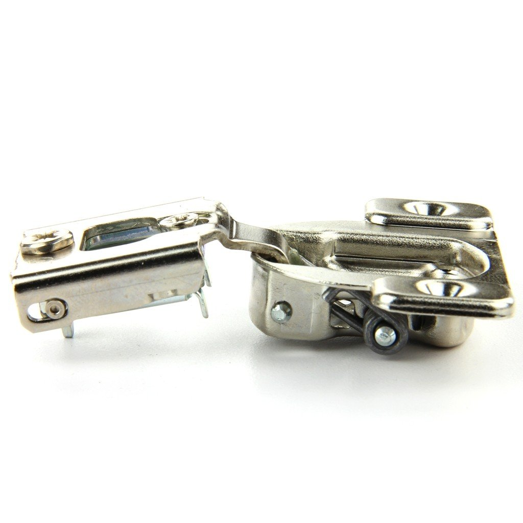 Pack of 10 Nickel Finish Blum 38N355C.08MBx10S 105 Degrees Compact 38N Series 1//2 Inch Overlay Screw-On Cabinet Hinge
