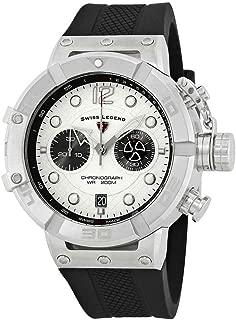 Swiss Legend Triton Chronograph Silver Dial Watch SL-10719SM-02S