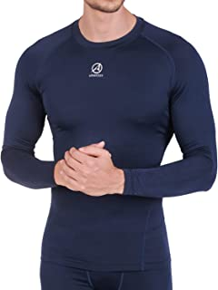 ARMEDES Men's Long Sleeve T-Shirt Baselayer Cool Dry Compression Top AR-141/142/52