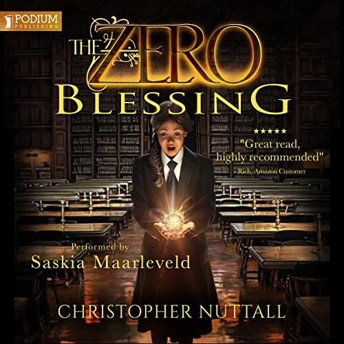 The Zero Blessing audiobook cover art