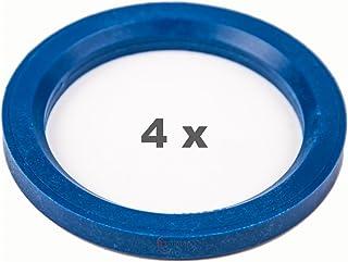 Kit 4 Boccole Anelli Di Centraggio Da 70,4 mm a 58,1 mm universali Cerchi Ruote