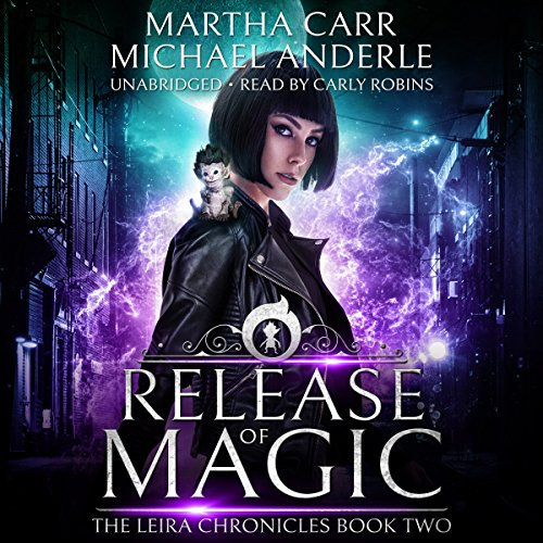 Release of Magic: The Revelations of Oriceran audiobook cover art