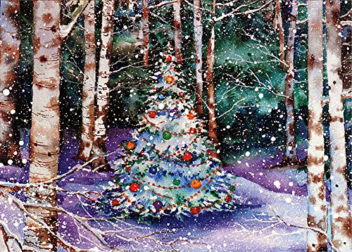 Winter Forest Friends Panoramic Boxed Holiday Cards Christmas Cards, Holiday Cards, Greeting Cards