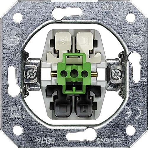 Siemens delta mecanismos 5TD2123 GIRA Rahmen 021136 1fach + ZR Event Farbe Alu, Mehrfarbig