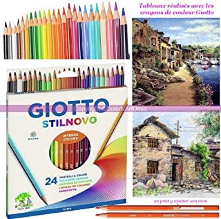 Set di 36 mine colorate da 2 mm per libri da colorare per adulti o bambini con set di matite e custodia con colori vivaci
